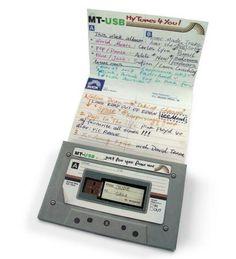 USB Mix Tape. I want it.