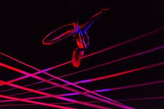 lighting the aerialist with saturated colours and matching colour scheme to the set pieces Lighting Ideas, Lighting Design, Circus Acts, Dark Circus, Saturated Color, After Dark, Flyers, Event Design, Service Design