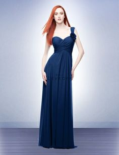bridesmaid dress. I like the color and one strap.
