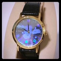 Lorus by Seiko Disney Watch Classic Disney timepiece by Lorus. In original box with all paperwork. Mickey hologram on face. Brand new condition with vintage style. Dates back to late 80s. Rare find. Jewelry