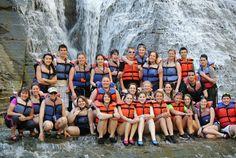 Greece Athena HS Outdoor Club @ Wolf Creek Waterfalls - 05/13  adventure-calls.com