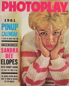 Feb.1961, Sandra Dee