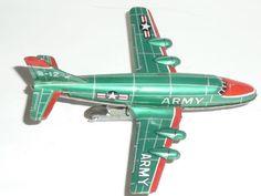 JAPAN-FLUGZEUG-AIRPLANE-JET-US-ARMY-B-12-60th-tin