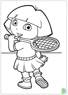 printable Dora coloring page People Coloring Pages, Cartoon Coloring Pages, Colouring Pages, Printable Coloring Pages, Coloring Sheets, Coloring Books, 50 Cent Movies, 50 Cent Songs, Dora Coloring