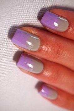 Purple/Grey Gradient...very cool for purple lovers