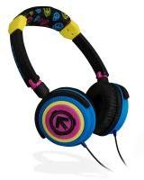 Aerial7 Phoenix Storm Purple - Blue - Black - Yellow Headphones - aren't they beautiful? (they've taken these off the market:( any good headphones will do now!)
