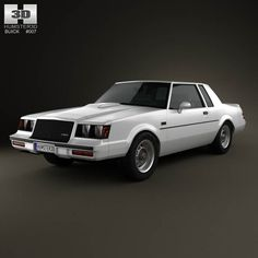 Buick Regal Grand National 1987 3d model from humster3d.com. Price: $75