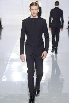 love the zipped blazer (Dior Homme FW 2013)