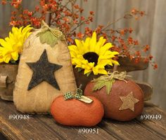 """Accented with a stem, fabric green gingham bow, and a paper tag that reads """"Harvest"""", this stiffened fabric pumpkin is an ideal finishing touch for a Fall display. The fabric has been starched so the fabric looks and feels solid. Measures 5.25"""" H x 5.25"""" W x 2.75"""" D. Stuffed pumpkin doll Stiff finish """"Harvest"""" From The Hearthside Collection Dyi Crafts, Fall Crafts, Decor Crafts, Fabric Crafts, Crafts For Kids, Pumpkin Garden, Diy Pumpkin, Pumpkin Crafts, Burlap Pumpkins"""
