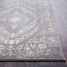 Charlton Home Thissell Vintage Persian Medallion White/Charcoal/Camel Area Rug , Cream Area Rug, Beige Area Rugs, Traditional Area Rugs, Transitional Rugs, Birch Lane, Online Home Decor Stores, Joss And Main, Rug Size, Oriental