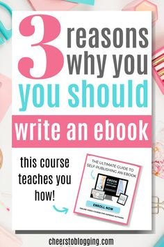 Writing an eBook Simplified With This Bootcamp - Cheers to Blogging