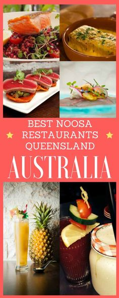 Best Noosa restaurants Hastings Street and beyond. Foodies rejoice: there are as many cutting-edge eateries in Noosa as there are tanned beach bods. Noosa Australia, Australia Tourism, Australia Trip, Sydney, Melbourne, Brisbane, Great Barrier Reef, Places To Eat, Cool Places To Visit