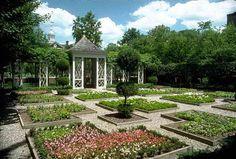 English Garden symmetry
