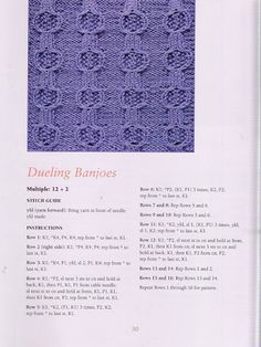 50 Fabulous Knit Stitches Rita Weiss - Paty Entretejiendo - Picasa Web Albümleri