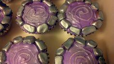 Homemade Skylanders Portal Cupcakes