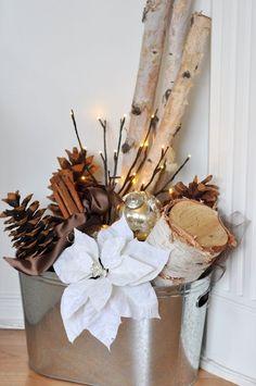 herfst of kerst decoratie