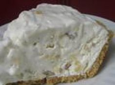 Million Dollar Pie~ you can add Maraschino cherries, Coconut, walnuts and Mandarin oranges or even strawberries, if you want to switch it up.