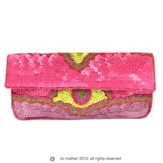 c287f79013f This Art Nouveau purse by KC Malhan in pink berry is perfect for Prom!