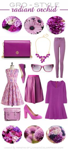 Radiant Orchid Inspiration - See more like this on SacredOrchid.com