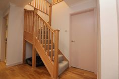 Oak Stop Chamfer Spindles and Newel Posts