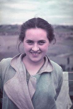 Unidentified young woman, Kutno, Nazi-occupied Poland, 1939.