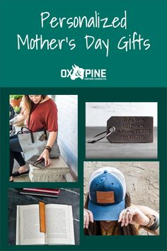 Show mom what she means to you with a personalized leather gift for Mother's Day! Check out some of our great products and customize just for her! #mothersday #mothersdaygifts #oxandpine #leathergifts #leather goods Leather Luggage Tags, Leather Gifts, Thanking Someone, Leather Bookmark, Personalized Mother's Day Gifts, Life Words, Classic Leather, Mothers Love, Mother Day Gifts