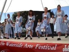 Spank the Planks Appalachian Team & the Broken String Band - Hythe Waterside Arts Festival Hampshire - Saturday 16 July 2005