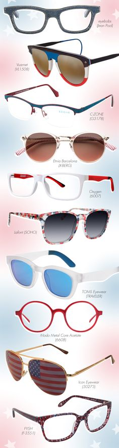 Burst with Pride + Style in Fourth of July Frames