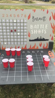 Barnett battle shots yard game – Famous Last Words Bbq Party Games, Bachelor Party Games, Home Party Games, Bbq Games, Backyard Party Games, Outdoor Party Games, Adult Party Games, Adult Games, Slumber Party Games