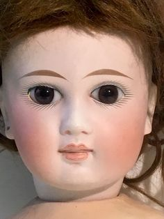 "ANTIQUE German SONNEBERG Type DOLL French Expression 20""in"