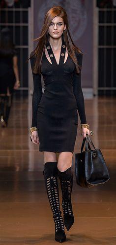 Look 31Versace Fall winter fashion for women