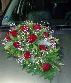 car wedding bouqet