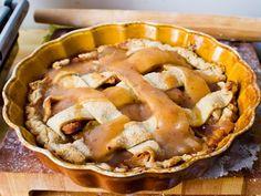 caramel apple pie - yum!