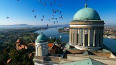 Esztergomi bazilika, Esztergom, Hungary - http://bestdronestobuy.com/esztergomi-bazilika-esztergom-hungary/
