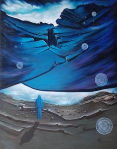"Saatchi Art Artist Giuseppe Alberto Regoli; Painting, ""Meteor"" #art"
