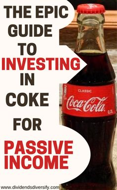 Invest money in companies you know. Coke is a dividend stock for passive income from dividends. Dividend investing is a proven for wealth building. And Coke is a great investment idea for your investment portfolio. Stock Market Investing, Investing In Stocks, Investing Money, Investment Tips, Investment Portfolio, Stock Analysis, Dividend Investing, Dividend Stocks, Budget Planer