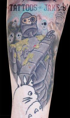 Studio Ghibli tattoo by Jake B