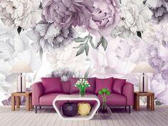 Kids Room Wallpaper, Of Wallpaper, Wallpaper Paste, Self Adhesive Wallpaper, Peel And Stick Wallpaper, Flowers Wallpaper, Forest Wallpaper, Girl Nursery, Nursery Room