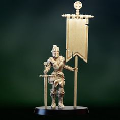3D Printable Female knight crusader standard bearer by PollyGrimm Female Knight, Old Models, Tabletop Games, Print Pictures, 3d Printing, Printables, Board Games, Print Templates, Table Games