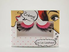 I love my #lalalashes  #thecremeshop #makeup #beauty #fauxlashes #eyelashes