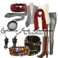 Disney Inspired Fashion: Captain Jack Sparrow