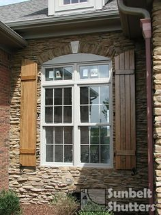Arched Board & Batten Shutters | For the Home | Pinterest | Batten ...