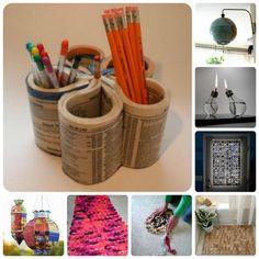 12+1 ideas para reciclar, reutilizar y decorar en las frías tardes de invierno. Los viernes de Ecología Cotidiana | El Blog Alternativo