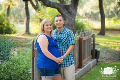 Maternity photo session with a beautiful Austin Texas couple, by Heidi Knight Photography