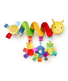 Take a look at this Spiral Caterpillar Go With Me Friends Toy by Taggies on #zulily today!