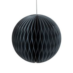 Boule à suspendre en papier grise D 18 cm UPPSALA Uppsala, The Great Gatsby, Ceiling Lights, Lighting, Pendant, Home Decor, Gray, Christmas Colors, Decoration Home