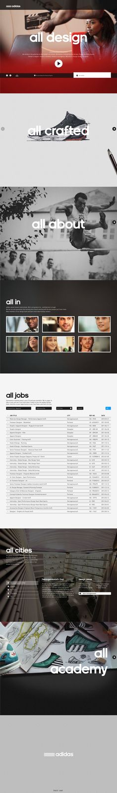adidasdesignstudios - i really like this minimalist take.  The photos are incredible and the interaction is done right - yes easing does add to the UX