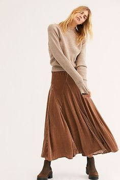 db041bc459 10 Best Brown Maxi Skirts images in 2015 | Dress skirt, Boho fashion ...