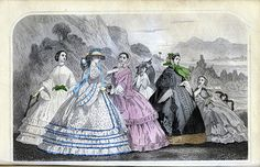 June 1860 Godey's Lady's Book Fashion