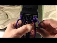 Rock Paracord - How to make a Triple Wide Cobra Weave - YouTube